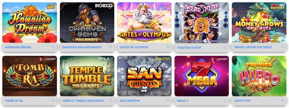 BeeBetでは色々なゲームが揃っています。