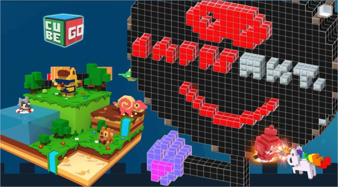 CubeGo(キューブゴー)で遊ぼう!マイクラ×DAPPSゲームの始め方