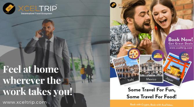 XcelTripとは?仮想通貨で決済可能なホテル予約サイトの概要