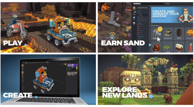The Sandbox|ボクセルアートでNFTを生み出すプラットフォーム概要