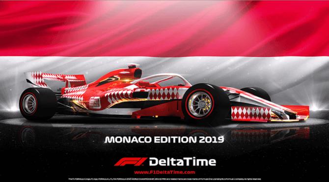 F1®Delta Time|第二回オークションはモナコのスペシャルマシン
