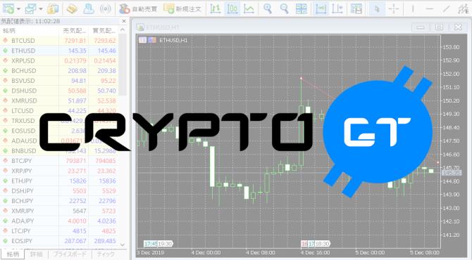 CryptoGT(クリプトGT)取引方法|MT5の使い方をかんたん解説
