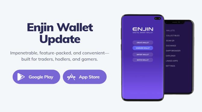 Enjin Walletアップデート内容!トークン一括送信やENSに対応