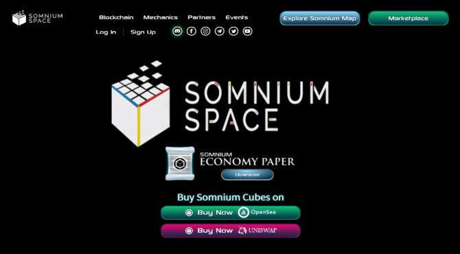 Somnium Space|NFTアートが飾れる仮想空間の概要と遊び方