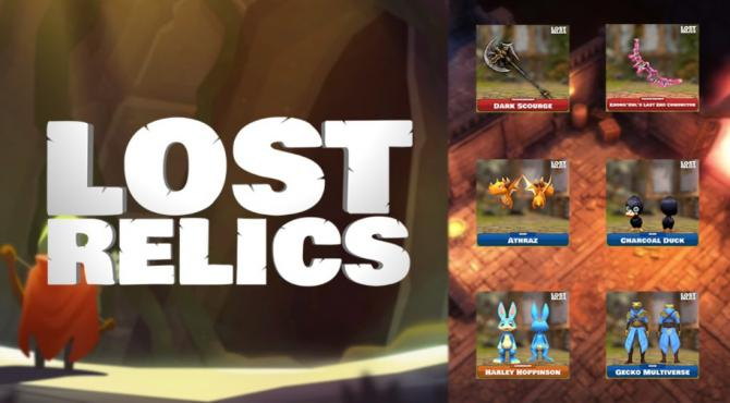LostRelics・ロストレリックス|アイテムの種類と消失の注意点