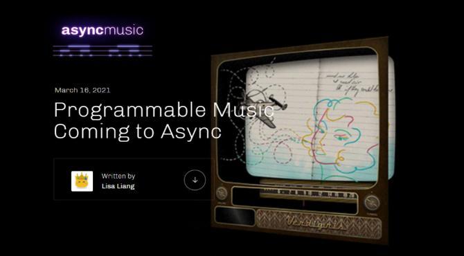 Async Musicとは?プロジェクト概要と新たな音楽NFTの可能性