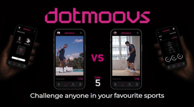 dotmoovs スポーツスキルで争う対戦型プラットフォームの概要