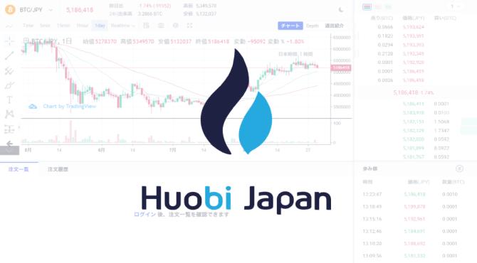 Huobi Japan(フォビジャパン)|トレード方法と取引所の使い方