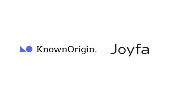 ジョイファ KnownOriginとデジタルファッション×NFTにおいて連携