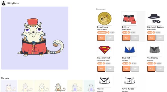 KittyHats(キティハット)|クリプトキティを着せ替えするアプリ