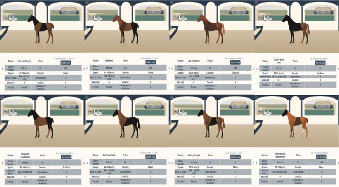 Cryptohorse クリプトホース | 10頭の交配データからみる配合の考察