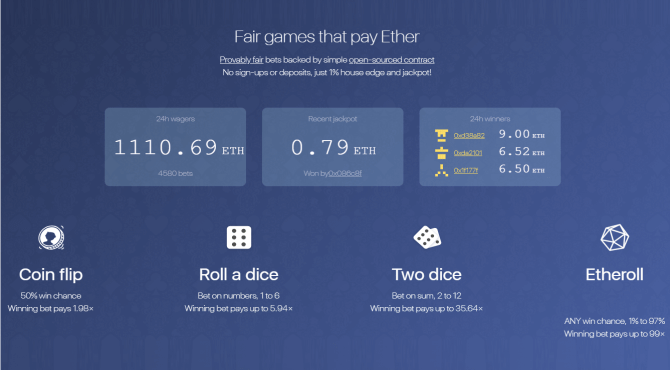 dice2win|仮想通貨を賭けるDappsの始め方と遊び方