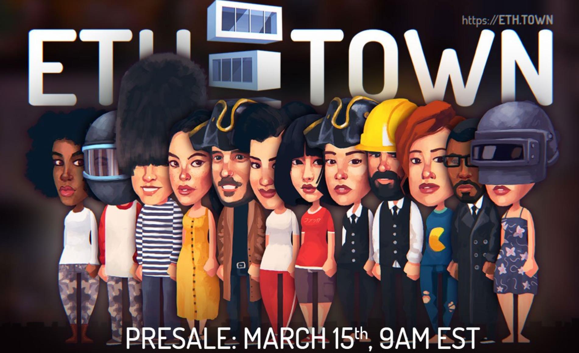 ETH TOWN(イーサタウン)プレセール!ゲームの始め方と公開情報まとめ