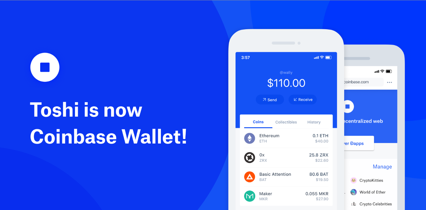 coinbacewallet Toshi