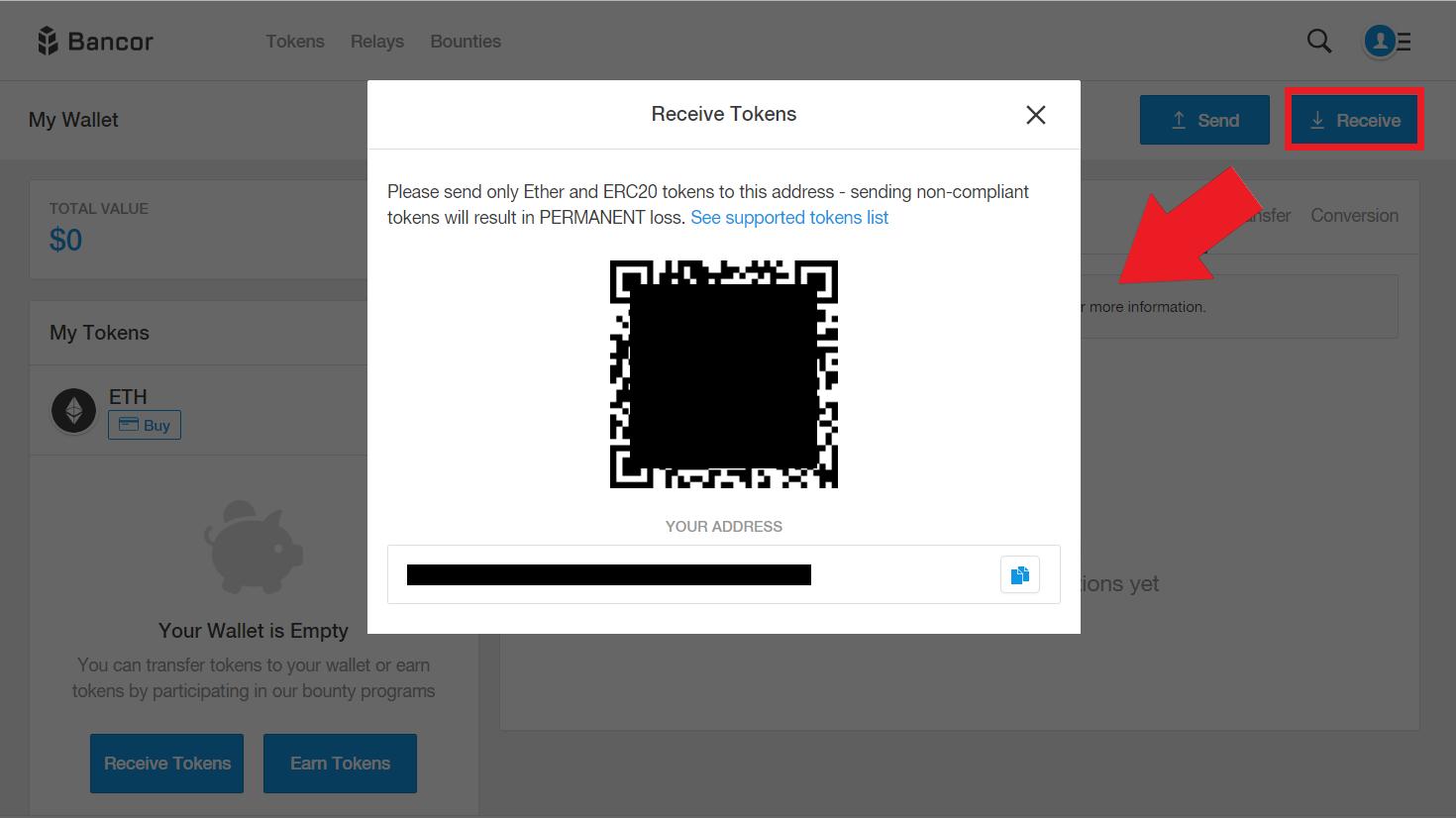 バンコール Bancor 使い方 登録