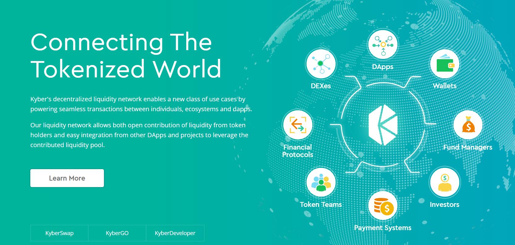 カイバーネットワーク カイバースワップ KyberNetwork KyberSwap 登録方法 始め方 使い方 解説 DEX 分散型取引所