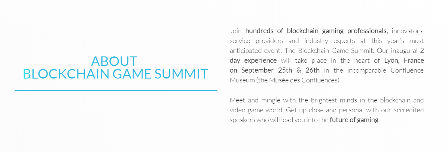 blockchaingamesummit Dapps e-sports