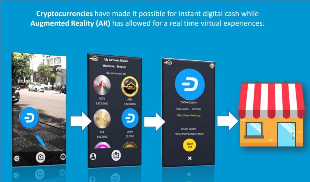 仮想通貨を稼ぐ!ARアプリ「Aircoins」の始め方と遊び方を解説