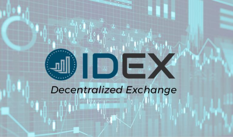 分散型取引所 IDEX|登録・入出金・取引方法すべての使い方を徹底解説