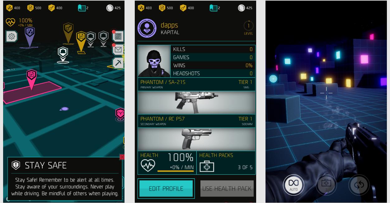 RealityClash リアリティクラッシュ FPS アプリ Dapps
