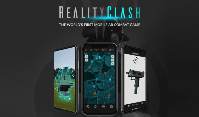 RealityClashとは?アプリで操作するAR技術を使ったDappsのFPSゲーム