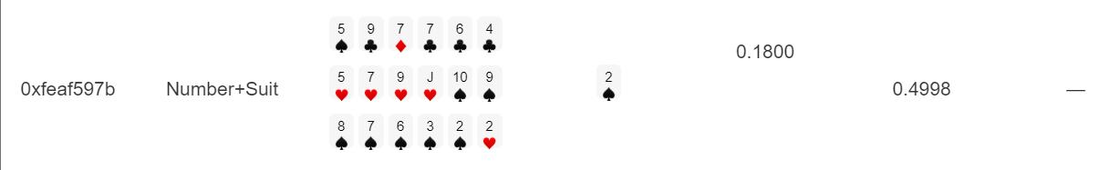 仮想通貨 ギャンブル Poker2Win Dapps ポーカー トランプ