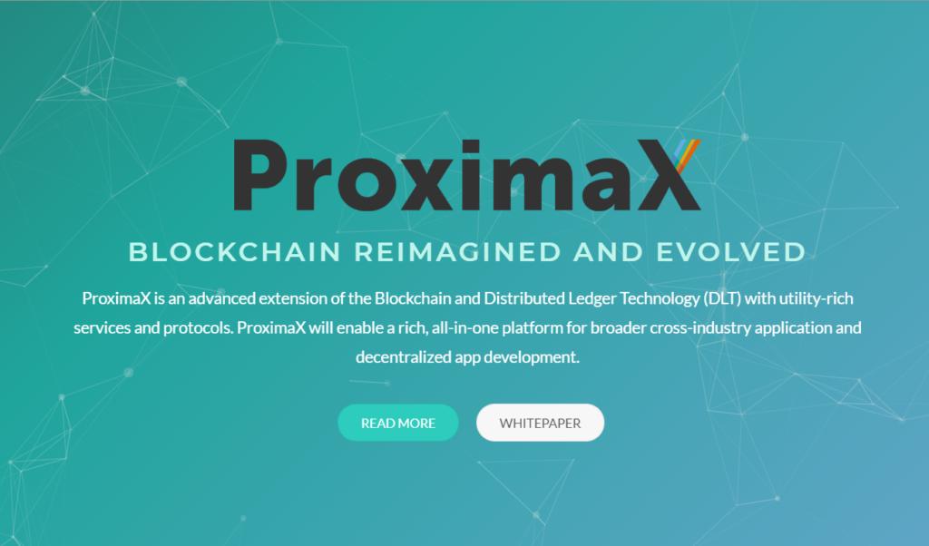 ProximaXとは?NEMのカタパルトを利用した分散型プラットフォーム