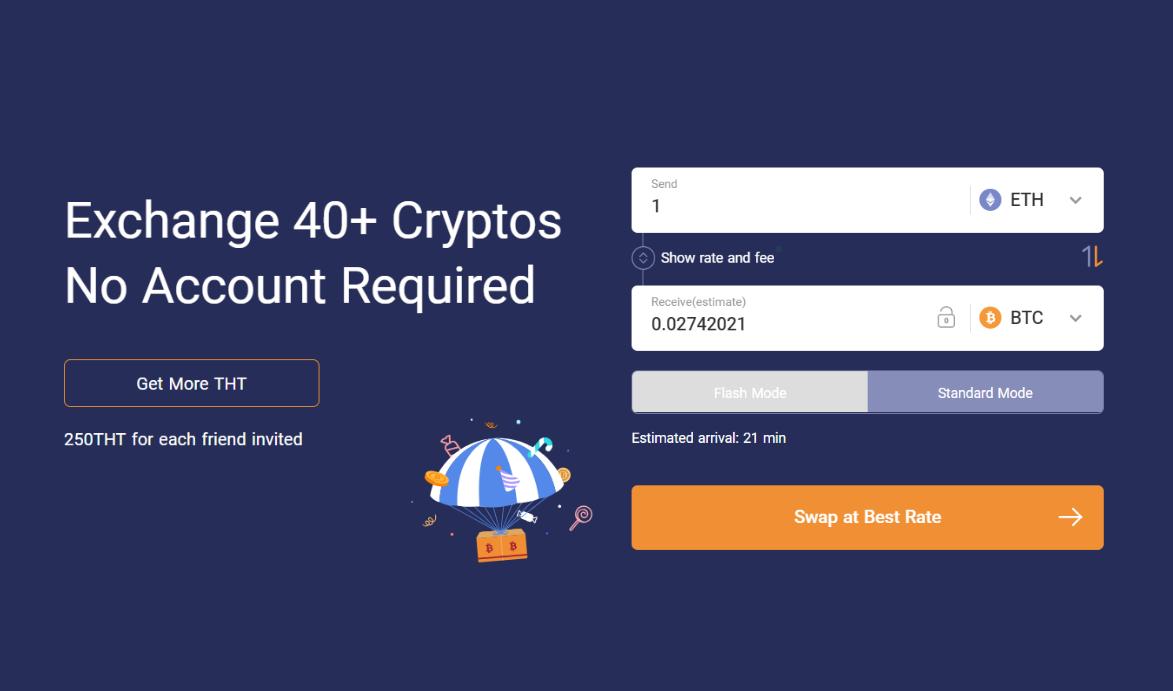 ThorSwap(DEX)の登録方法と使い方|BTCやETH対応の分散型取引所