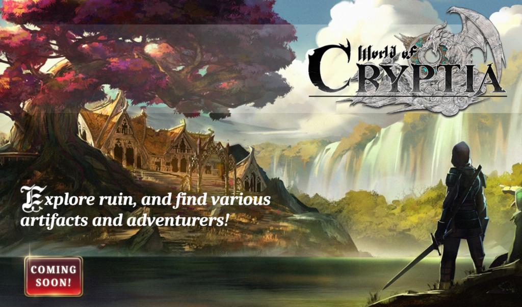 World of Cryptiaとは?国産の本格的RPGゲームが年内リリース予定