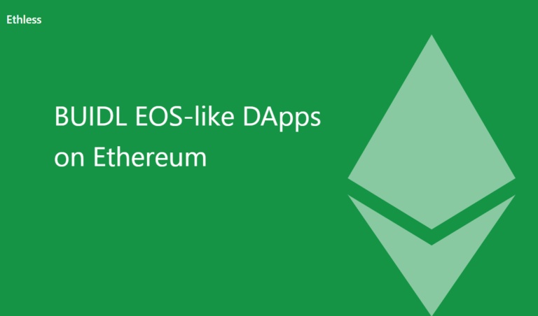 Ethlessとは?ゲーム手数料が無料になるDapps構築プラットフォーム