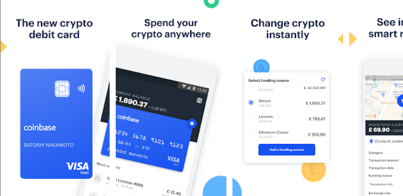 coinbasecard コインベースカード 仮想通貨 デビットカード