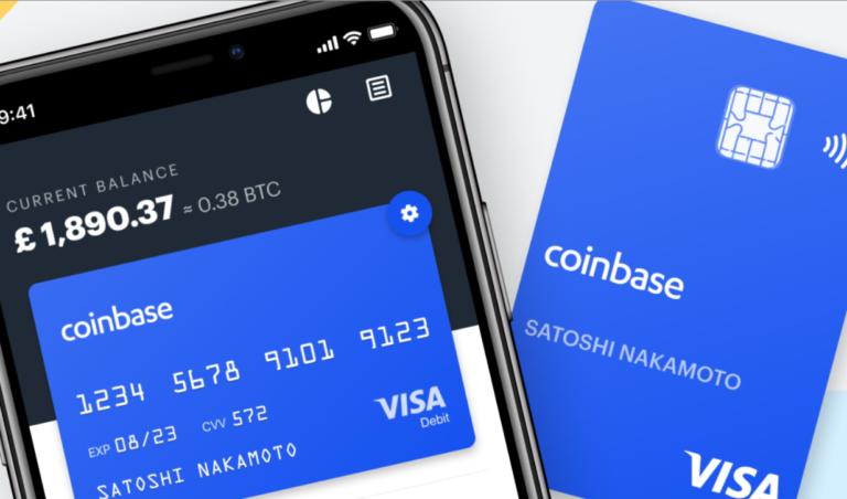 CoinbaseCard|取引所アカウントと連携して仮想通貨の決済が可能に