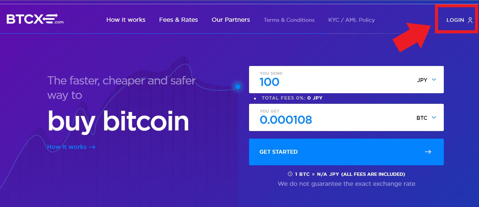 仮想通貨 クレジット購入 カード BTCXE