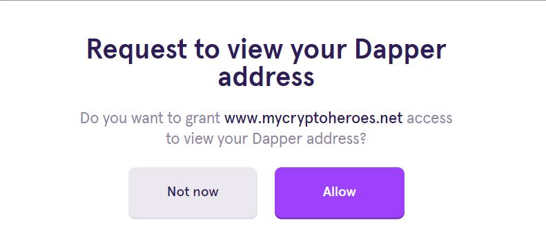 Dapper 使い方 始め方 インストール 遊び方 ブロックチェーンゲーム ガス代