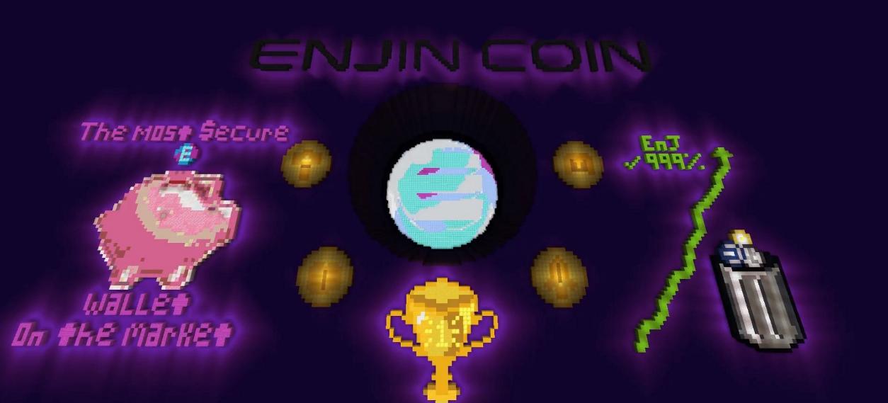 マイクラ ブロックチェーン エンジンクラフト EnjinCraft