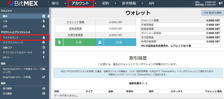 BitMEX ビットメックス 登録 口座開設 仮想通貨 取引所