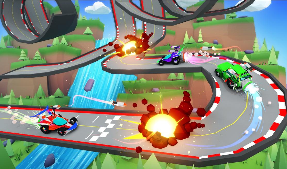 Battle Racersとは?ディセントラランドで遊ぶレースバトルの概要