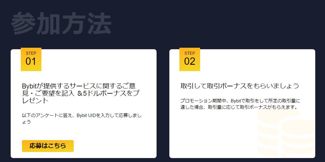 バイビット bybit 取引 キャンペーン