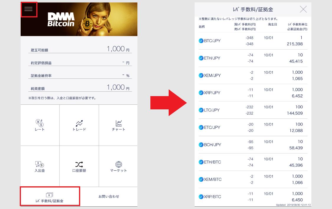 DMMbitcoin DMM Bitcoin アプリ 使い方 取引方法