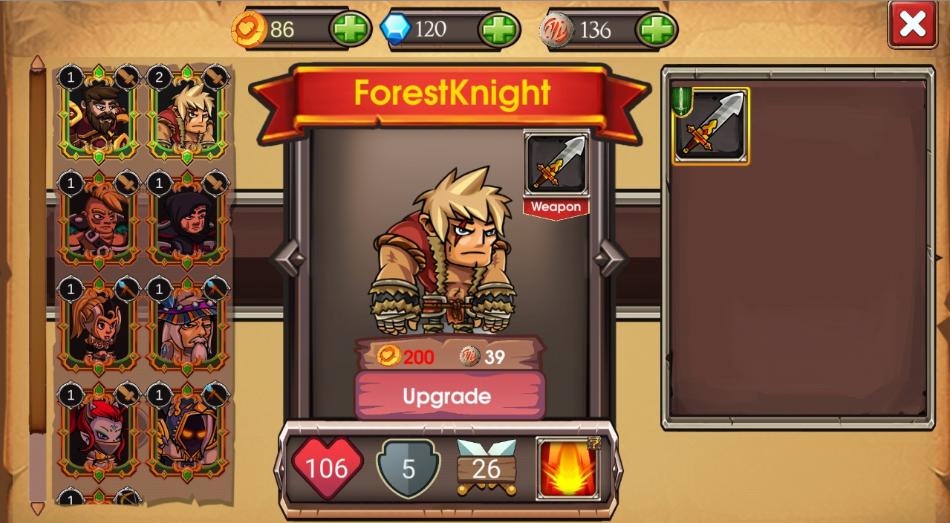 フォレストナイト Forest Knight アプリ