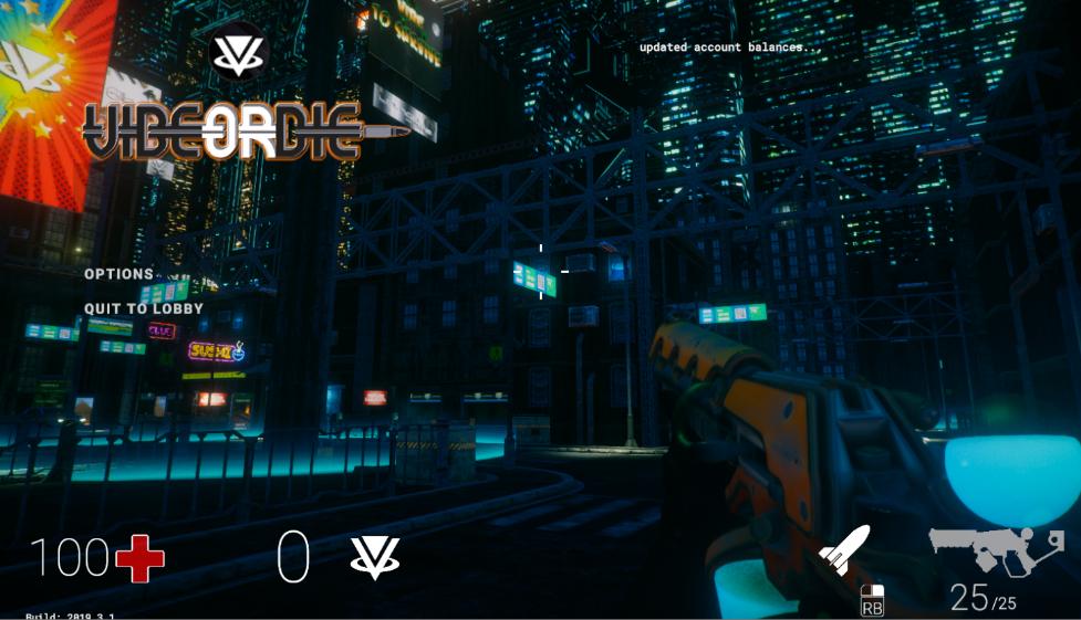 Vibe or Dieとは?VR対応予定のハイクオリティFPSのゲーム性