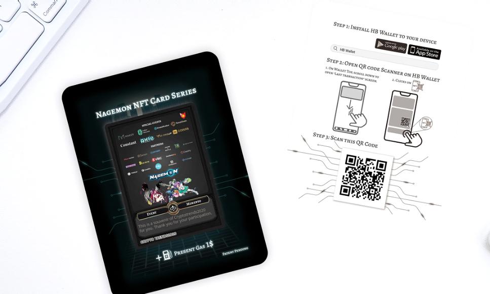 HB Wallet ブロックチェーンカード