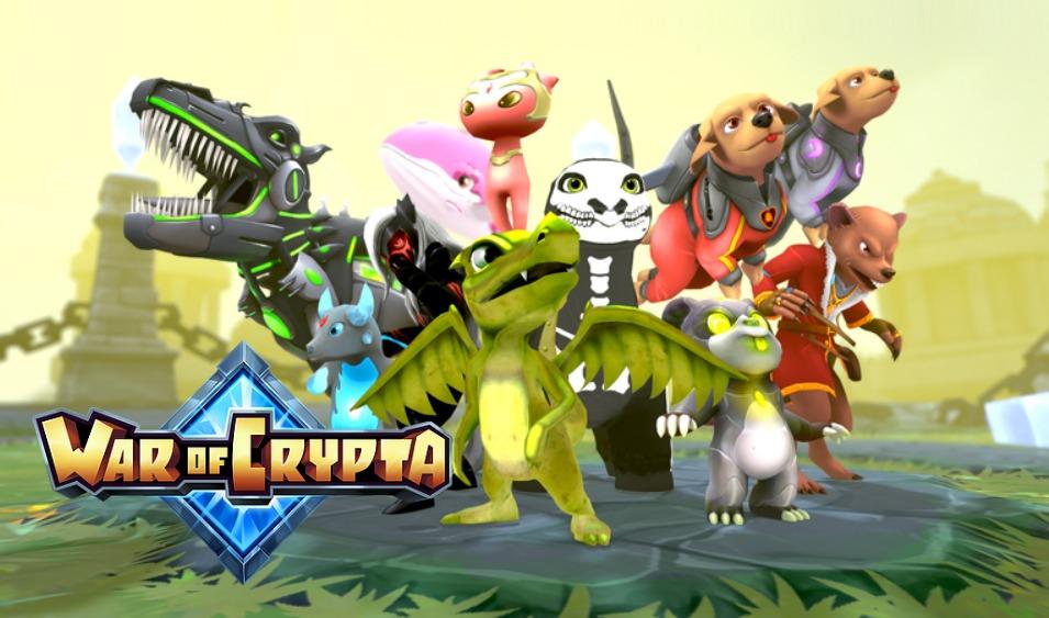 War of Crypta|アプリの始め方と遊び方・実装コンテンツを解説