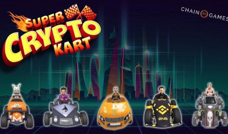 Super Crypto Kart|ブロックチェーンゲーム版マ〇オカートが登場