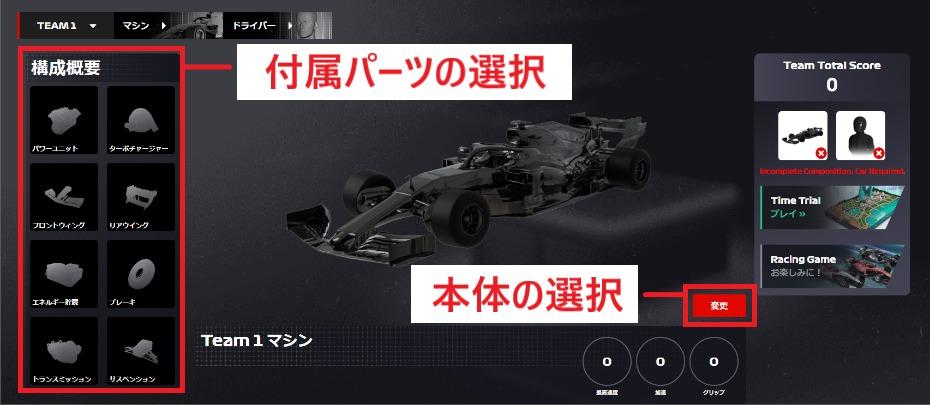 F1デルタタイム タイムトライアル 参加方法 遊び方
