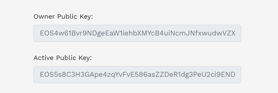 EOS アカウント作成 手順 やり方