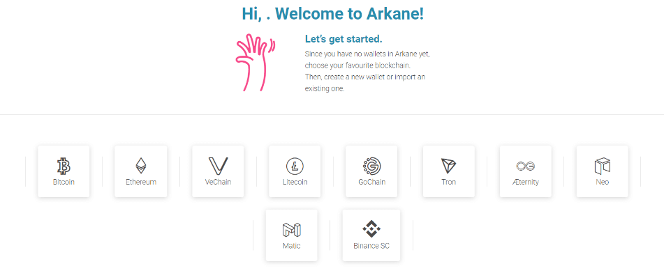 Matic Arkane NFTマーケット