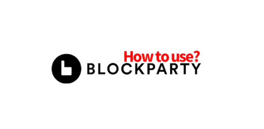 Blockparty NFTマーケット 使い方