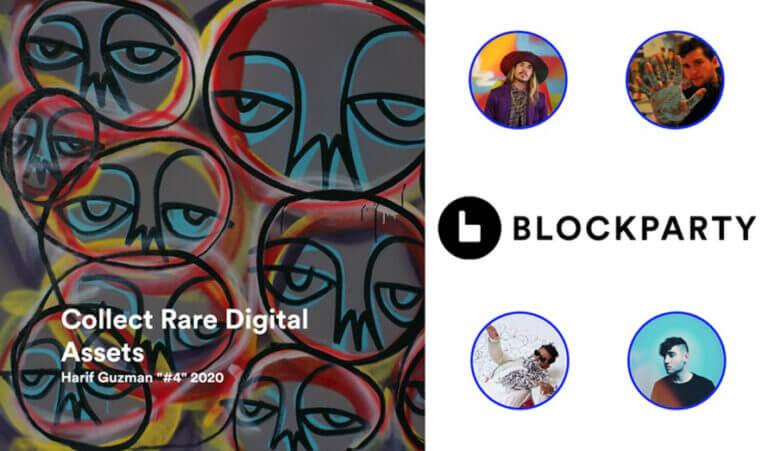 Blockparty|著名人も参加するNFTマーケットの概要と使い方
