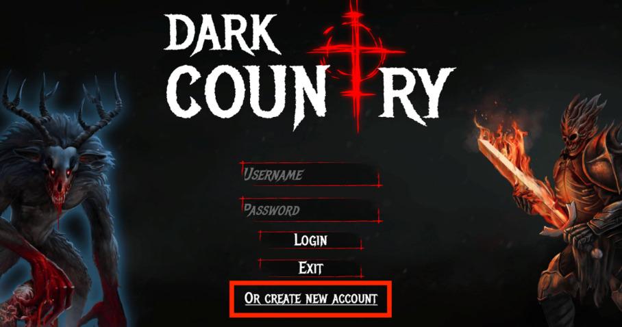 Dark Country ダークカントリー NFT TCG ダウンロード